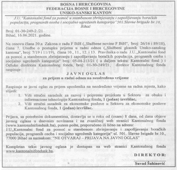 Javni-oglas-za-prijem-u-radni-odnos-na-neodredeno-vrijeme-Avaz-16.-6.-2021-1